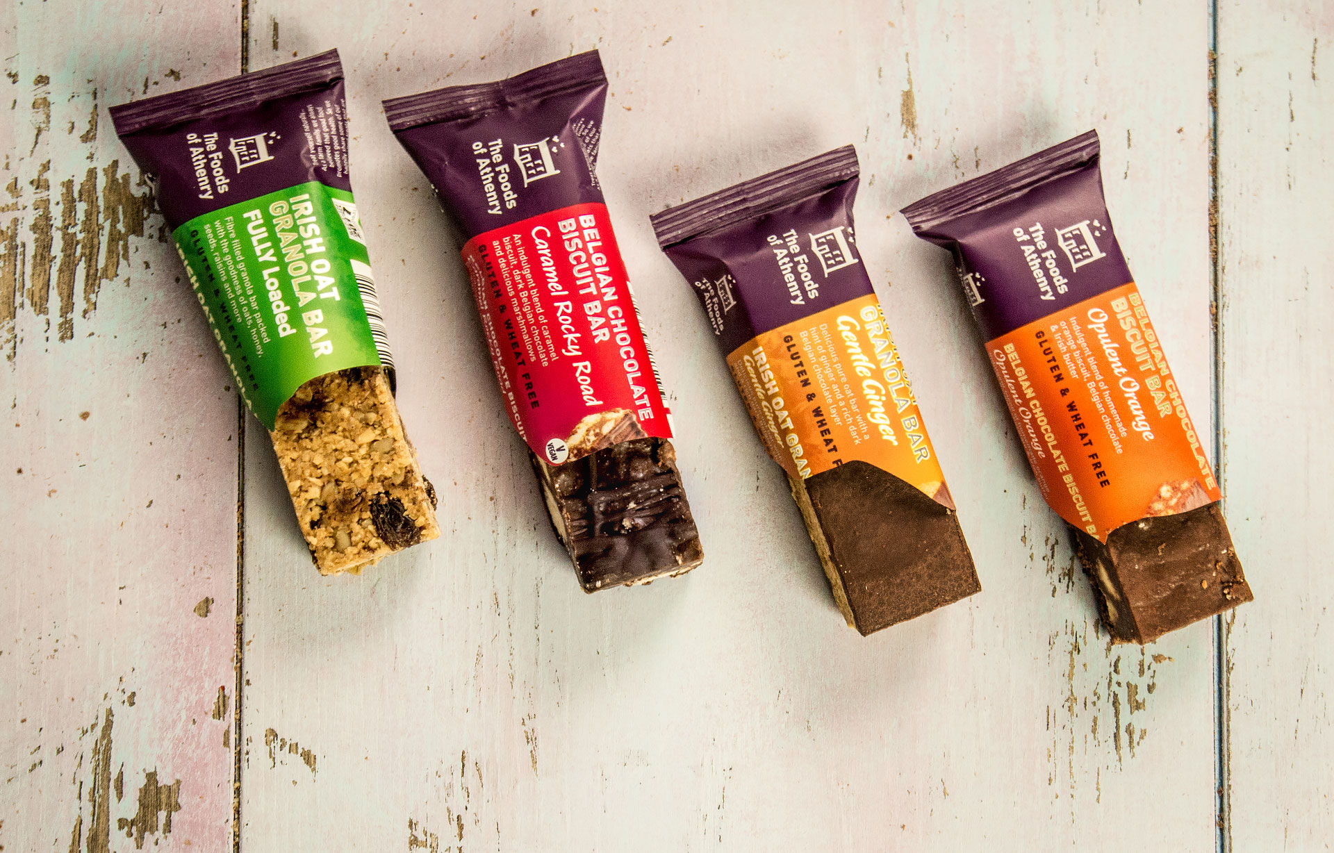 Four Bars of Gorgeousness The Foods of Athenry www.foodsofathenry.ie