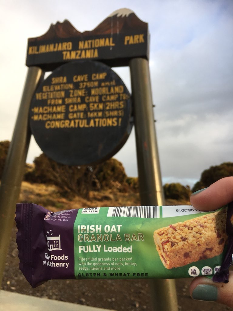The Foods of Athenry Irish Oat Fully Loaded Bar Gluten Free Bar www.foodsofathenry.ie