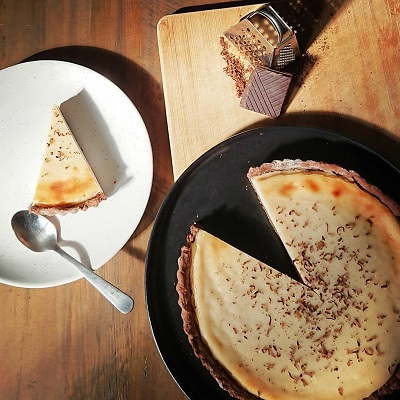 The Foods of Athenry Mothers Day Vegan Bailey Cheescake