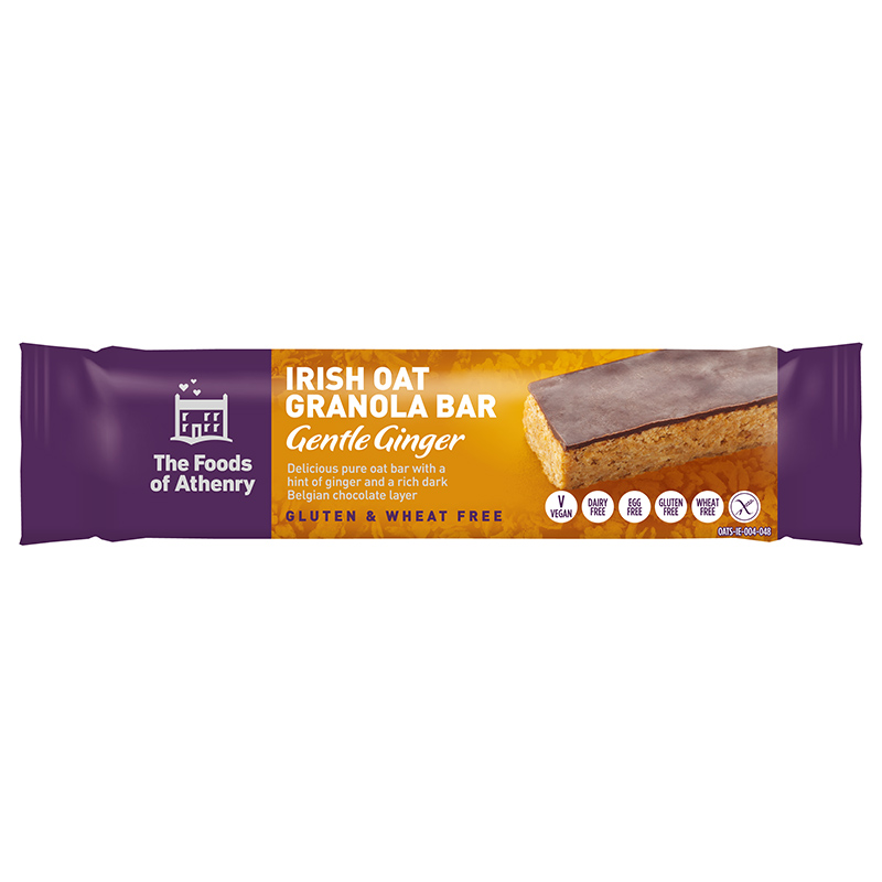 Irish Oat bar gentle ginger WEB