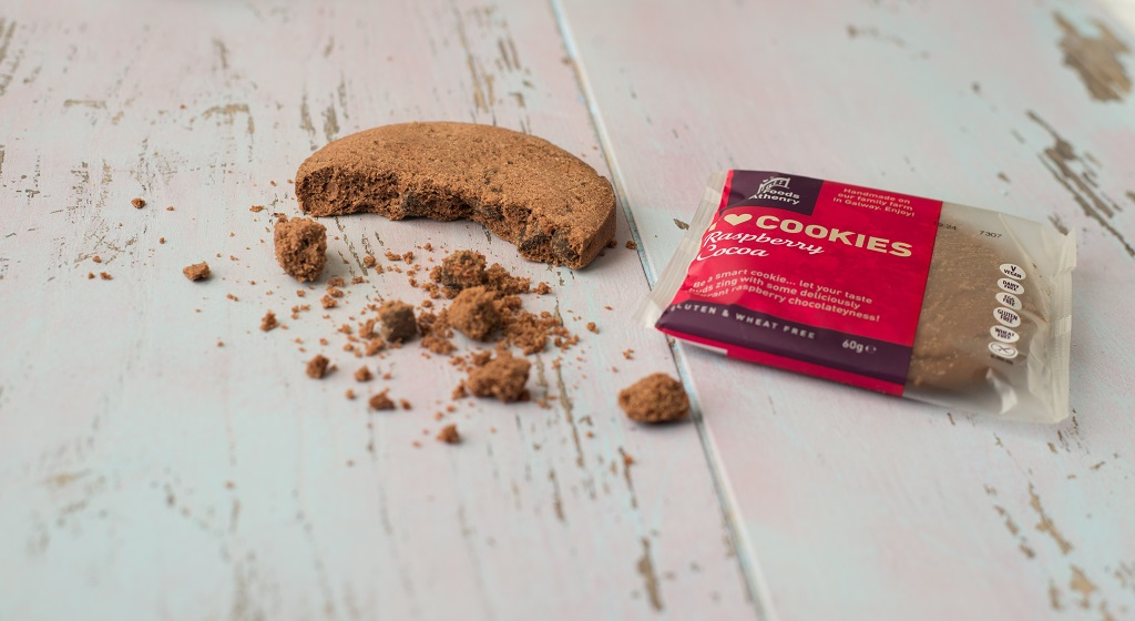 Raspberry Cocoa Cookie The Foods of Athenry