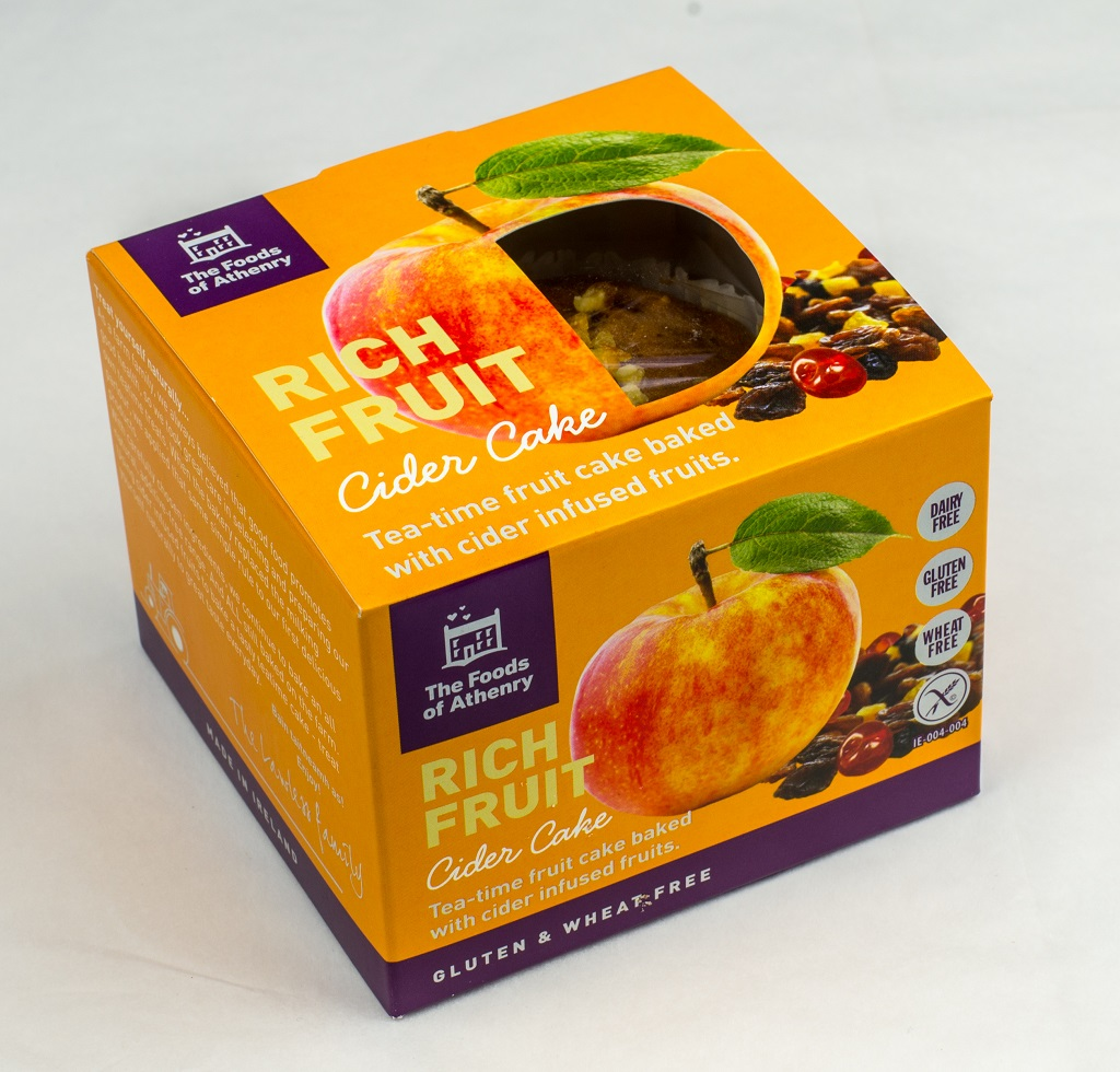 Rich Fruit Cider Cake in Box The Foods of Athenry