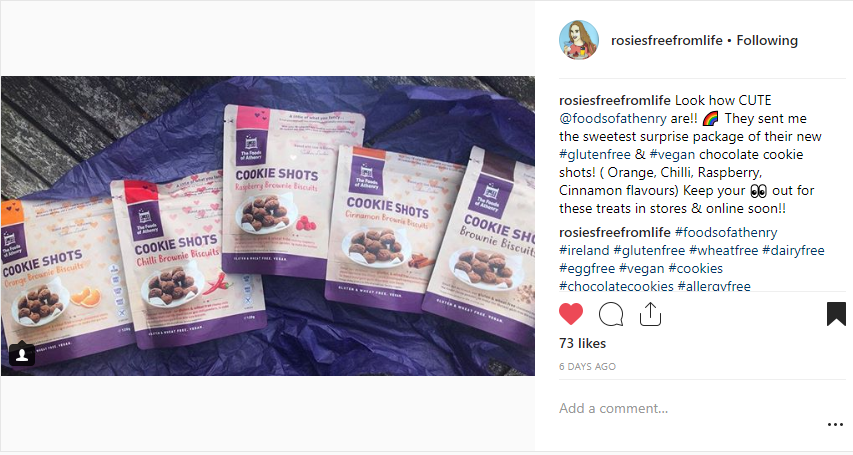 rosiesfreefromlife CookieShots September2018