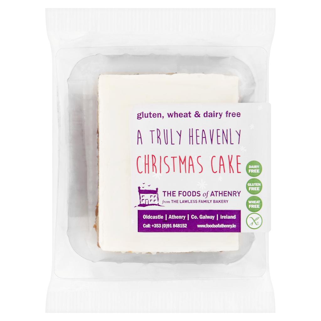 Cakes: Gluten Free Christmas Cake – Single Slice