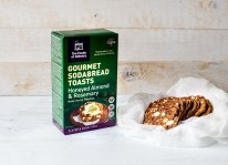 Almond & Rosemary Toasts with box The Foods of Athenry www.foodsofathenry.ie