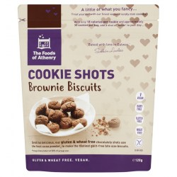 Gluten Free Cookie Shots 'Brownies' - Case of 12