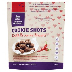 Gluten Free Cookie Shots Chilli Brownie Case of 12