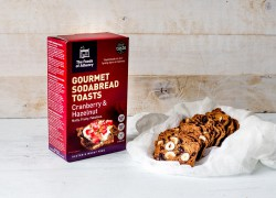 Cranberry and Hazelnut Toasts The Foods of Athenry www.foodsofathenry.ie