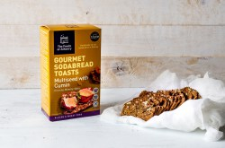 Cumin Toasts with box The Foods of Athenry www.foodsofathenry.ie