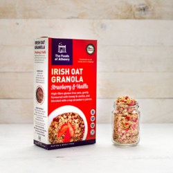 Gluten Free Strawberry & Vanilla Granola