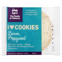 Gluten Free Single Cookie – Lemon & Poppyseed – Case 20