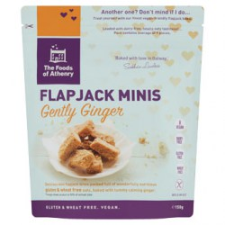Gluten Free Flapjack Minis 'Gently Ginger' (Just Oats)