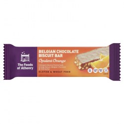 Belgian Chocolate Biscuit Bar - Opulent Orange - Case of 20