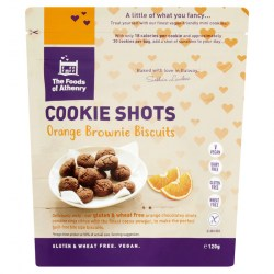 Gluten Free Cookie Shots 'Orange Brownie'