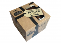 Deliciously moist and malty Porter cake with vine fruits soaked to bursting in Irish Stout.