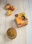 Vine fruits soaked in Cider and gently baked for a rich fruity teatime treat. A gluten free version of a traditional rich fruit cake.