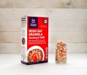 The Foods of Athenry Irish Oats Strawberry granola box and jar www.foodsofathenry.ie