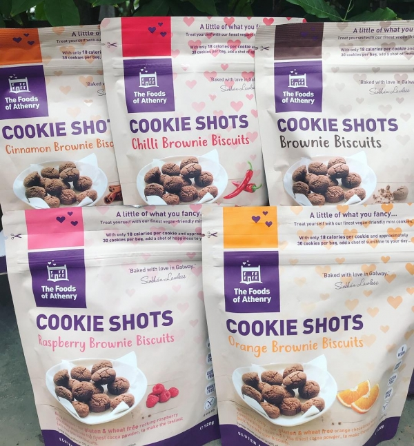 Cookie Shots New The Foods of Athenry