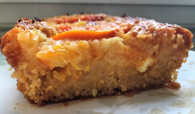 Vegan Gluten Free Blood Orange Polenta Cake