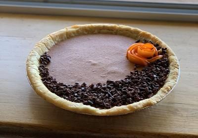 Persimmon Cacao Pie Vegan