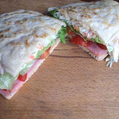 Pancake Pittas or the cheats way to a gluten free pitta bread